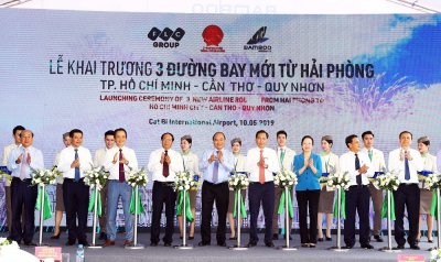 PRIME-MINISTER-CUTS-RIBBON-LAUNCHING-THREE-NEW-AIR-ROUTES-OF-BAMBOO-AIRWAYS-CONNECTING-HAI-PHONG-3